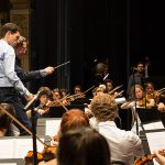 Riccardo Muti con Vincenzo Milletarì.