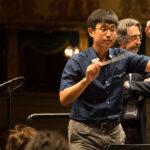 Riccardo Muti con Su-Han Yang.