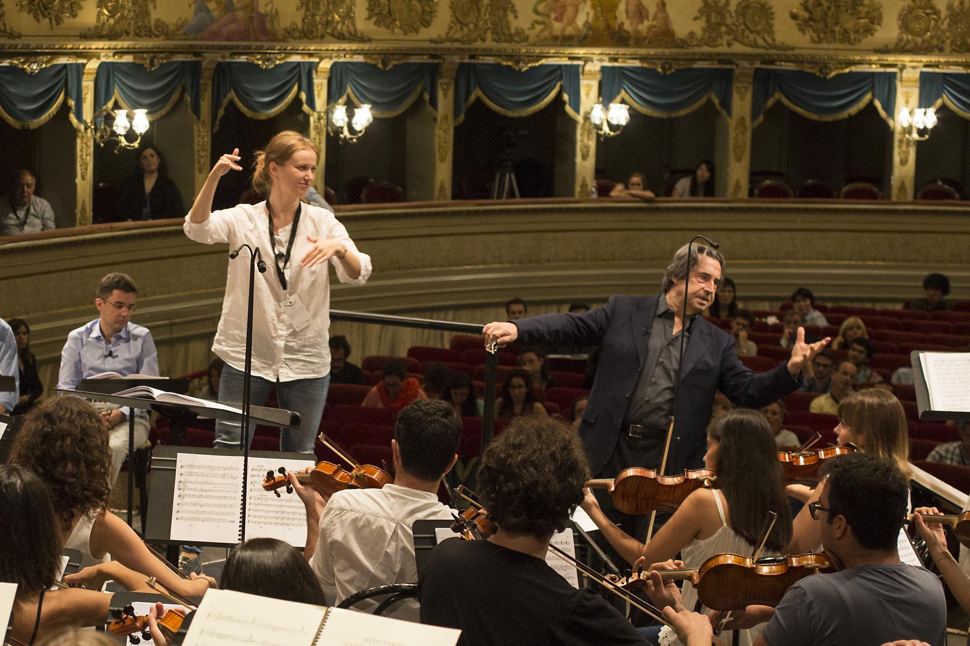 Riccardo Muti Italian Opera Academy