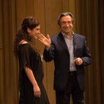Riccardo Muti presenta l'opera. Claudia Pavone, allieva cantante.