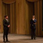 Riccardo Muti presenta l'opera. Ivan Defabiani, allievo cantante.
