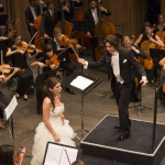 Concerto di Gala, Dawid Runtz direttore d'orchestra.