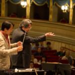 Riccardo Muti con Jiao Yang.
