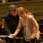 Riccardo Muti con Giedrė Šlekytė.